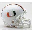 Miami Hurricanes NCAA Riddell Replica Mini Football Helmet