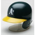 Oakland Athletics MLB Replica Left Flap Mini Batting Helmet From Riddell