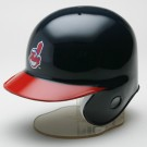 Cleveland Indians MLB Replica Left Flap Mini Batting Helmet From Riddell