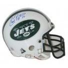 Chad Pennington Autographed New York Jets Riddell Authentic Mini Helmet
