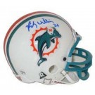Ricky Williams Autographed Miami Dolphins Riddell Replica Mini Helmet