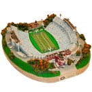 North Carolina Tar Heels Limited Edition Collegiate Football Replica Stadium - Platinum Series