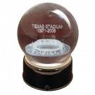 Texas Stadium (Dallas Cowboys) Etched Crystal Ball