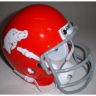 Arkansas Razorbacks (1964) Mini Throwback Football Helmet from Schutt