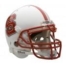 North Carolina State Wolfpack NCAA Schutt Full Size Authentic Football Helmet