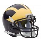 Michigan Wolverines NCAA Mini Authentic Football Helmet From Schutt