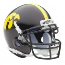 Iowa Hawkeyes NCAA Mini Authentic Football Helmet From Schutt