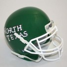 North Texas Mean Green NCAA Mini Authentic Football Helmet From Schutt