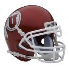 Utah Utes NCAA Mini Authentic Football Helmet From Schutt