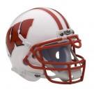 Wisconsin Badgers NCAA Mini Authentic Football Helmet From Schutt