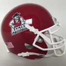 New Mexico State Aggies NCAA Mini Authentic Football Helmet From Schutt