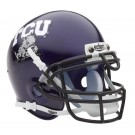 Texas Christian Horned Frogs NCAA Mini Authentic Football Helmet From Schutt