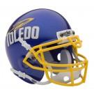 Toledo Rockets NCAA Mini Authentic Football Helmet From Schutt
