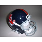 Mississippi (Ole Miss) Rebels 1970 Schutt Throwback Mini Helmet