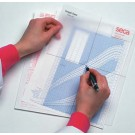Seca 404 Graph Ease Plotting Tool (Package of 25)