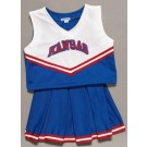 Kansas Jayhawks Cheerdreamer Young Girls Cheerleader Uniform