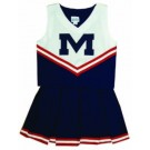 Mississippi (Ole Miss) Rebels Cheerdreamer 2 Young Girls Cheerleader Uniform