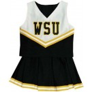 Wichita State Shockers Young Girls Cheerleader Uniform
