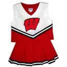 Wisconsin Badgers Young Girls Cheerleader Uniform