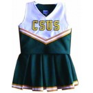 California State (Sacramento) Hornets Cheerdreamer Young Girls Cheerleader Uniform