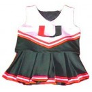 Miami Hurricanes Cheerdreamer Young Girls Cheerleader Uniform