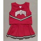 Ohio State Buckeyes Cheerdreamer Young Girls Cheerleader Uniform