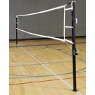"""Game Standards And Net for 3"""" Aluminum Power Volleyball System - (One Standard with Winch, One Standard without Winch, and Net)"""