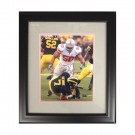 """Autographed Vernon Gholston 8"""" x 10"""" Framed Photograph (COA: Sports Images)"""