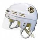 Boston Bruins Official NHL Mini Player Helmet (White)