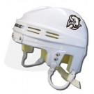Buffalo Sabres Official NHL Mini Player Helmet (White)