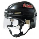 Calgary Flames NHL Authentic Mini Hockey Helmet from Bauer (Black)