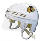 Chicago Blackhawks Official NHL Mini Player Helmet (White)