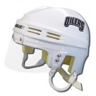 Edmonton Oilers Official NHL Mini Player Helmet (White)