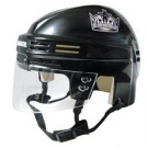 Los Angeles Kings NHL Authentic Mini Hockey Helmet from Bauer (Black)