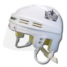 Los Angeles Kings Official NHL Mini Player Helmet (White)
