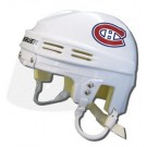 Montreal Canadiens Official NHL Mini Player Helmet (White)