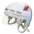 New Jersey Devils Official NHL Mini Player Helmet (White)