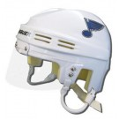 St. Louis Blues Official NHL Mini Player Helmet (White)