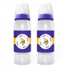 Minnesota Vikings Baby Fanatic Baby Bottles (2 Pack)