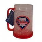 Philadelphia Phillies 16 oz Plastic Crystal Freezer Mugs - Set of 4