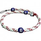 Detroit Tigers Classic Frozen Rope Baseball Wristband / Bracelet