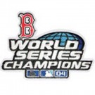Red Sox 2004 World Series Logo Patch