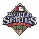 2008 World Series MLB Logo Patch