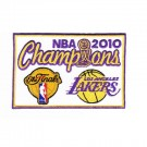 Los Angeles Lakers 2010 NBA Championship Patch (Set of 2)