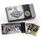 Boston Bruins 2010 - 2011 Upper Deck Stanley Cup Champs Boxed Set