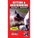 """Hitting and Base Running Workout"" - Baseball Training Video (VHS)"
