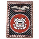 """United States Coast Guard 50"""" x 70"""" Three Layer Throw Blanket From Simply Home"""