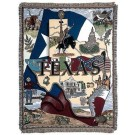 """State Of Texas"" 50"" x 60"" Tapestry Throw Blanket From Simply Home"