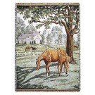 """""""Lazy Meadow"""" 50"""" x 70"""" Full-Size Tapestry Throw Blanket From Simply Home"""