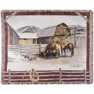 """""""Ranch Life""""  by Pat Lehmkuhl 50"""" x 60"""" Tapestry Throw Blanket From Simply Home"""